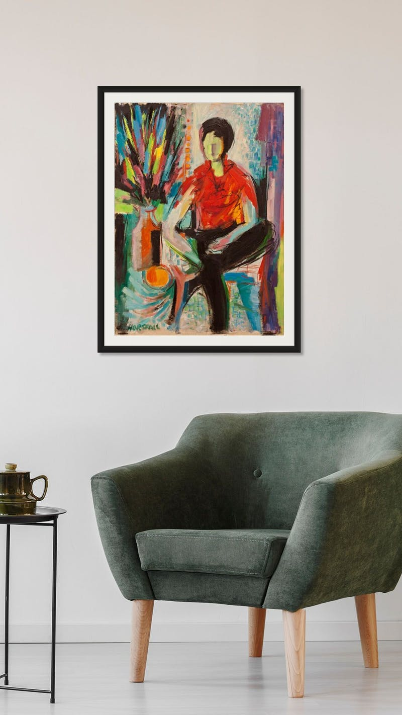Portrait of Seated Figure Image 2