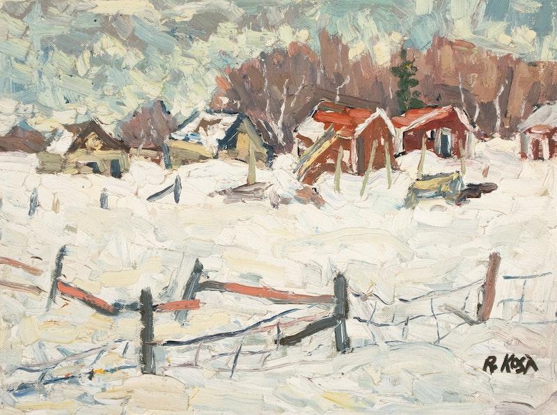 Winter Farm Scene Image 2