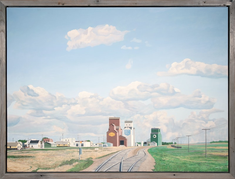 Prairie Grain Elevator Image 1