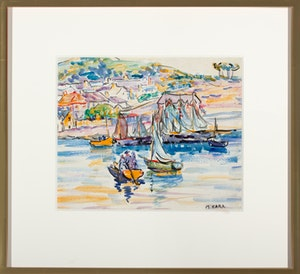 Boats Near Harbour Brittney France