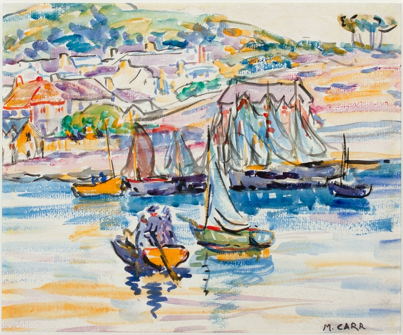 Boats Near Harbour Brittney France Image 2