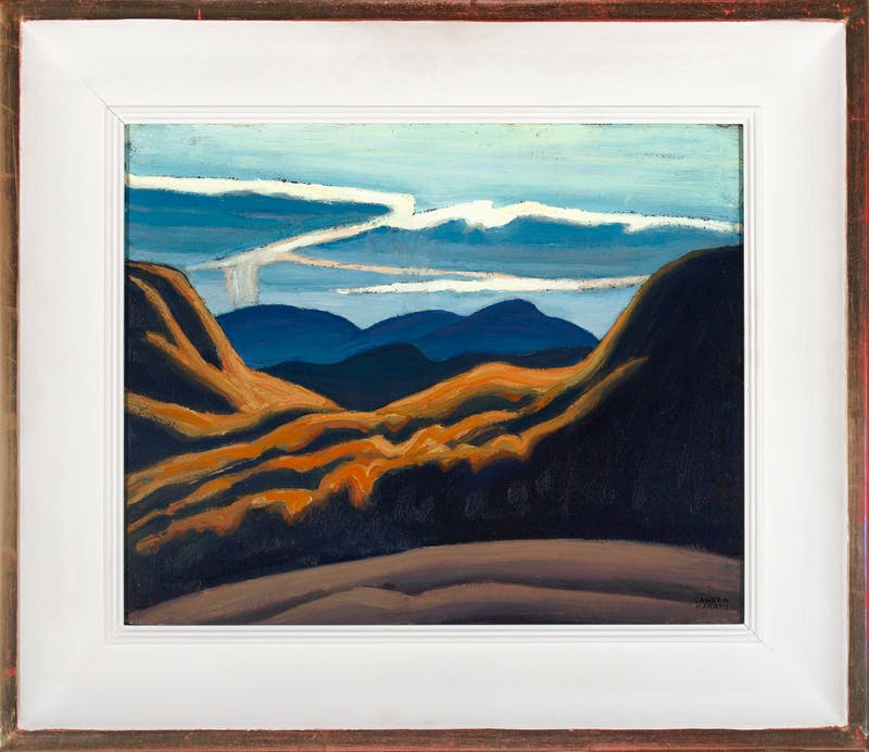 Lake Superior Country by Lawren Harris, 1925 Oil on Panel - (12x15 in)