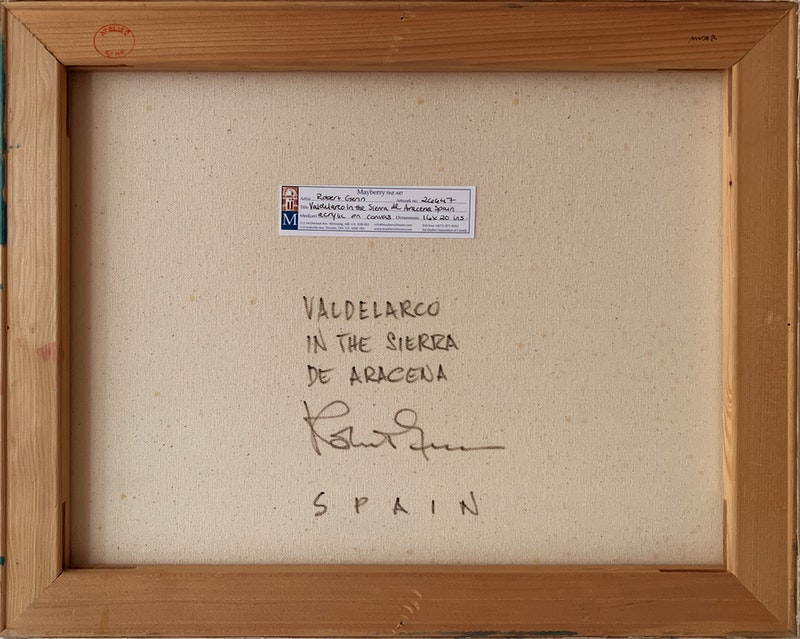 Valdelarco in the Sierra de Aracena Spain Image 3