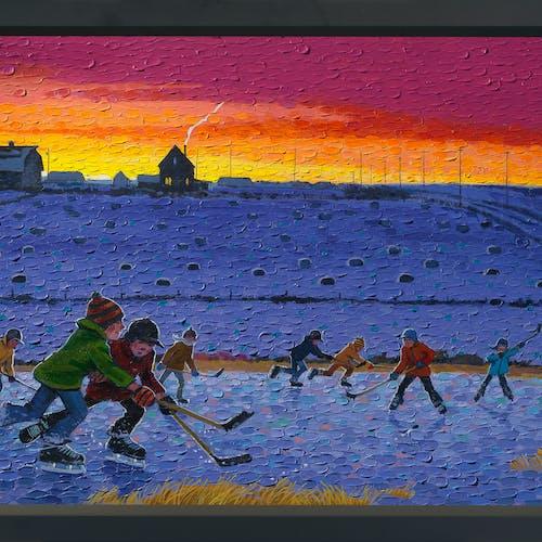 Overtime 1/25 by Bill Brownridge, 2021 Archival Pigment Print - (24x48 in)