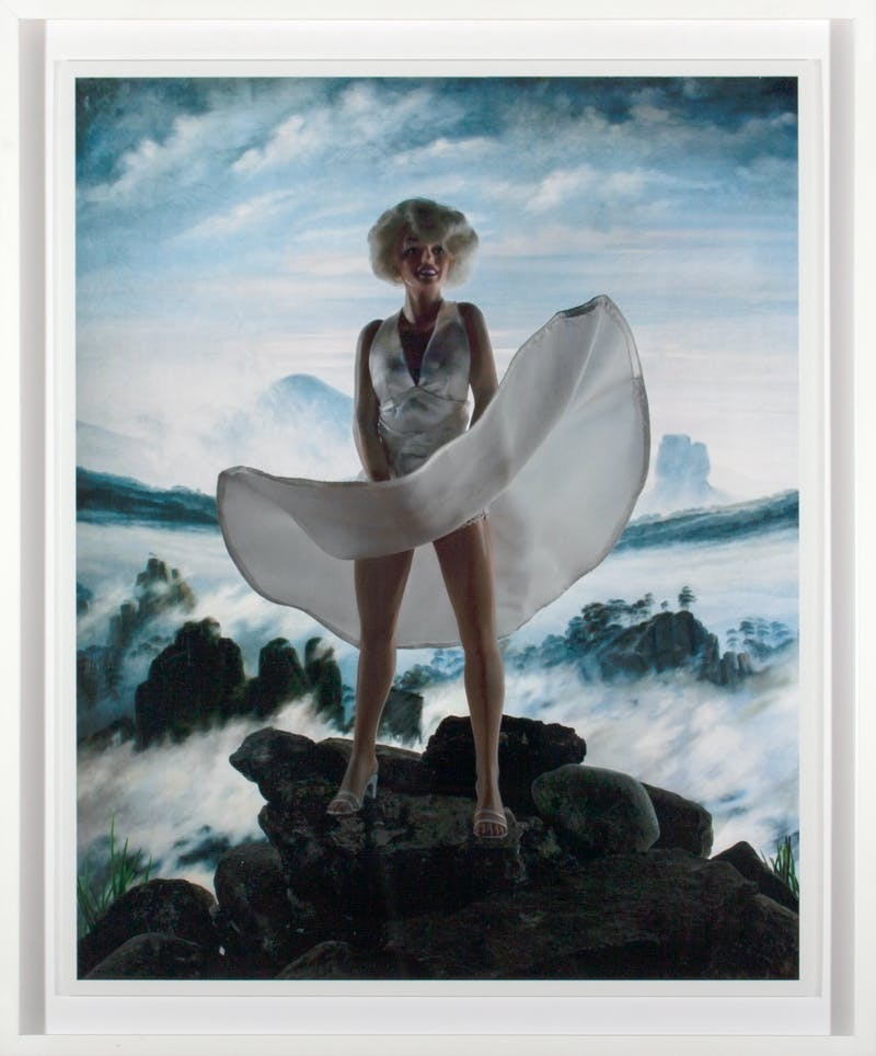 Wanderer Above a Sea of Ice (Marilyn) 8/20