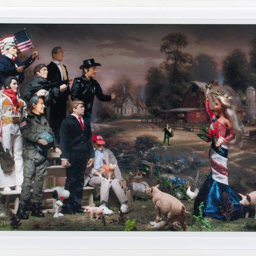 American Bachelorette (At Riverbend Farm) 3/20 by Diana Thorneycroft, 2013 Digital Photograph on Paper - (22x30 in)
