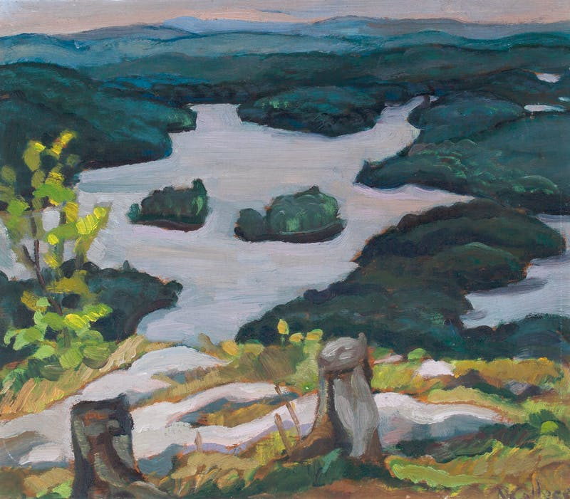 Sixteen Island Lake from Savage's Mountain, PQ Image 2