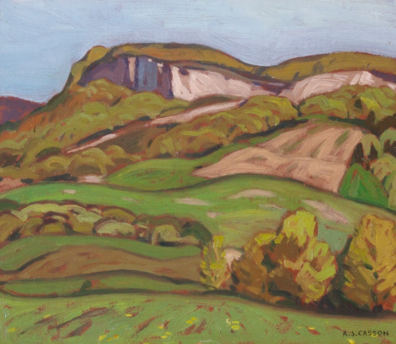 Niagara Escarpment at Milton Image 1