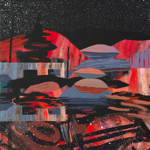 You Can See Orion From Here by Meghan Hildebrand, 2021 Acrylic on Panel - (12x12 in)