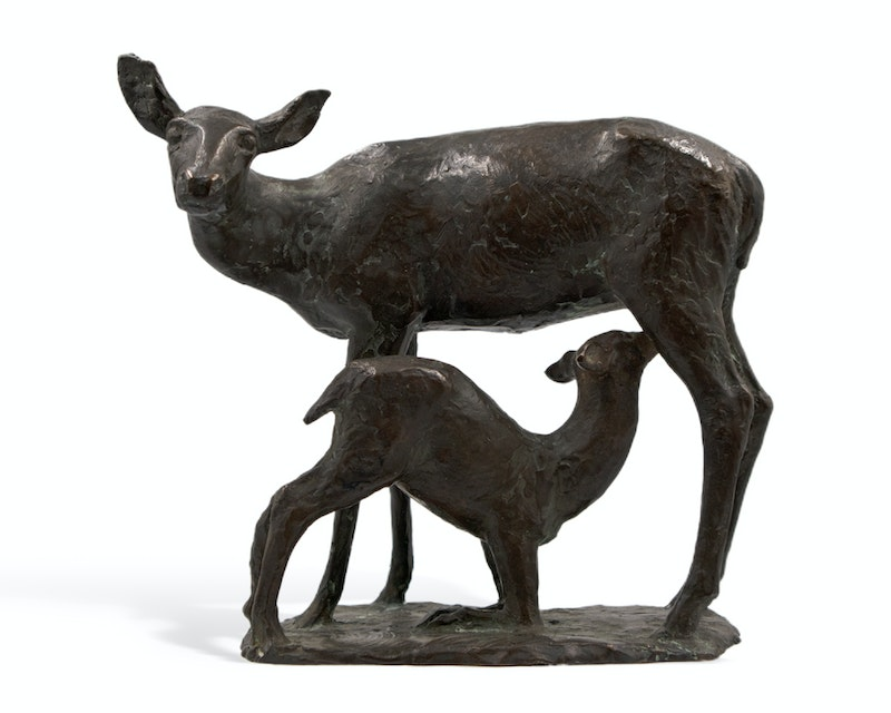 Deer and Fawn Image 1