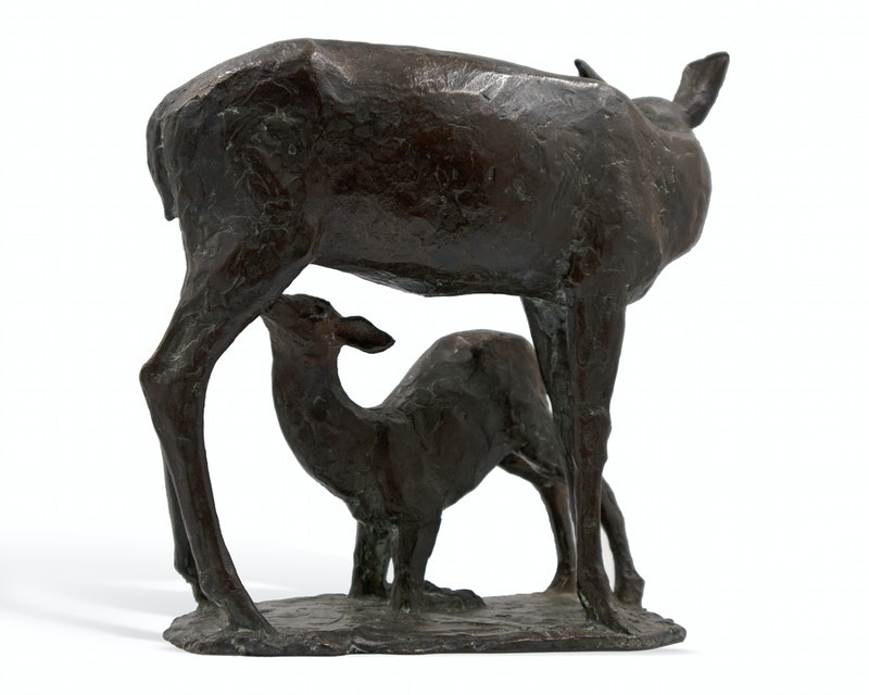 Deer and Fawn Image 3