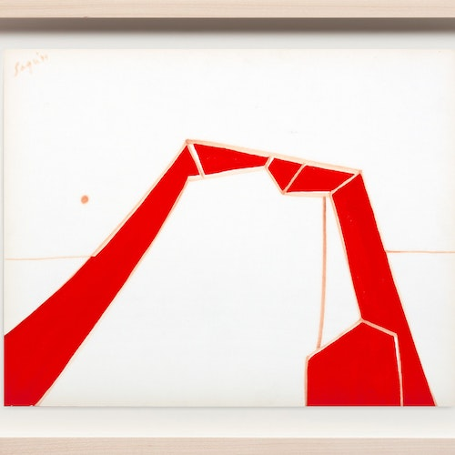 Untitled by Peter Sager, 1971 Gouache on paper - (11x14 in)
