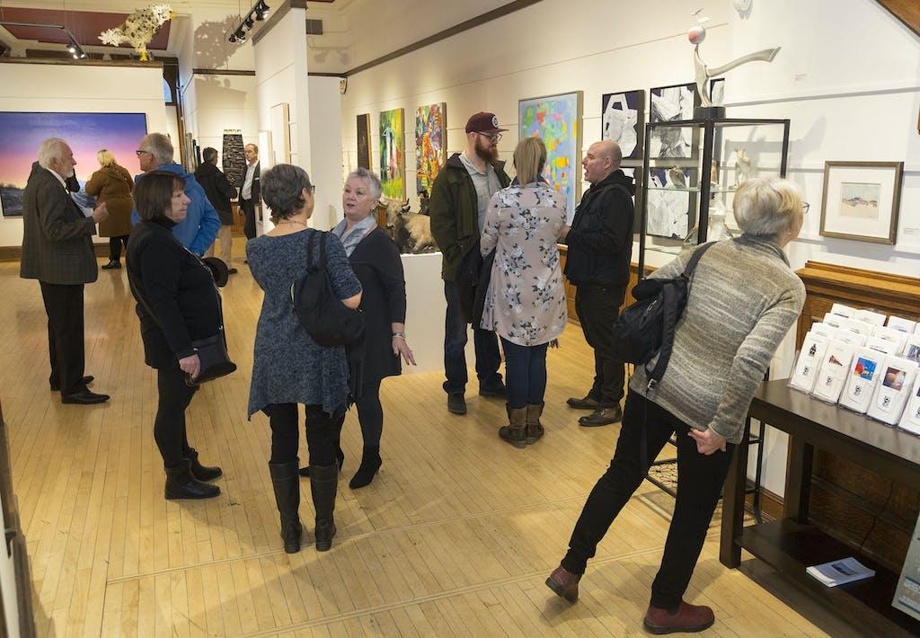 Art, Art Gallery, Human, Person, Flooring, Floor, Hardwood, Wood, Clothing, Shoe, Footwear, Apparel