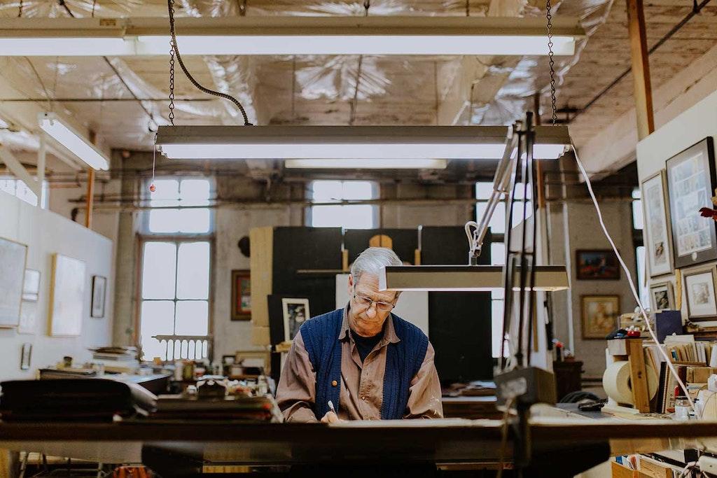 Wood, Plywood, Person, Human, Furniture, Building, Hardwood, Electronics, Monitor, Display, Screen, Flooring, Shelf