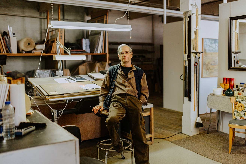 Wood, Plywood, Workshop, Human, Person, Flooring, Furniture, Shelf, Clothing, Apparel, Floor, Hardwood, Table, Giacomo Rizzolatti
