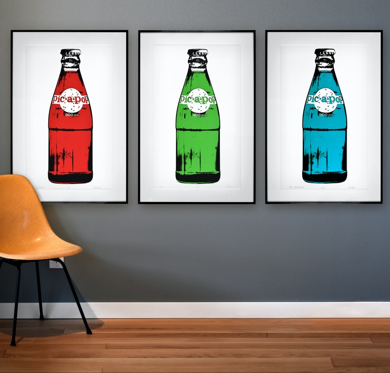 PIC-A-POP (SET OF THREE) - Eric Ouimet Image 1