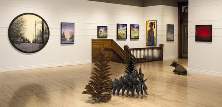 Mayberry Fine Art Interior
