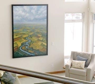 Indoors, Interior Design, Building, Housing, Home Decor, Room, Living Room, Furniture, Display, Electronics, Screen, Monitor