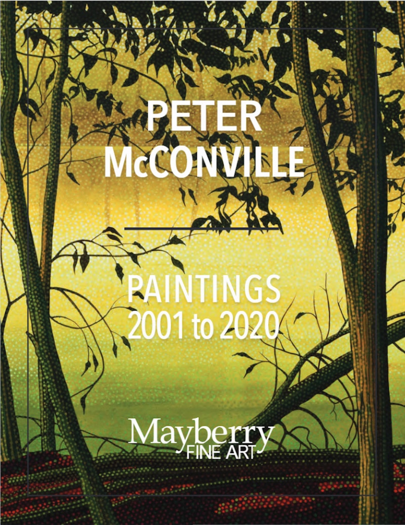Peter McConville Book - Paintings 2004 to 2020 Image 1