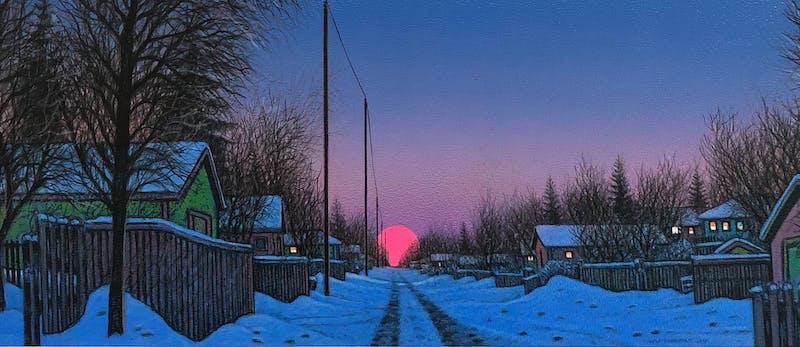 Wilf Perreault: Back Lanes at Twilight